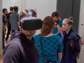 code and soda - Open VR Studio- Design Week