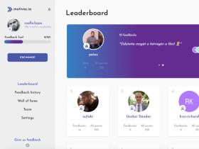 CodeYard - Saját termékünk a motivac.io!