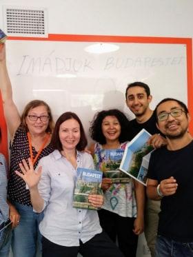 Converzum - a nyelvi közösségi tér - Haladó magyaros csoportunk