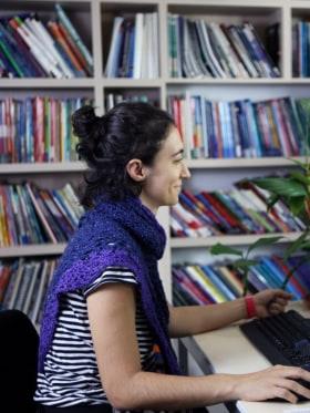 Converzum - a nyelvi közösségi tér - Pillanatkép a tanáriból