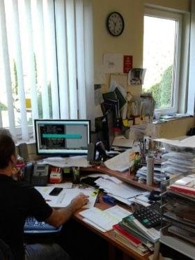 Cu-Technik - Fotó az irodáról
