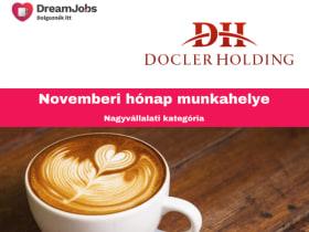 Docler - Hónap Munkahelye November 2019