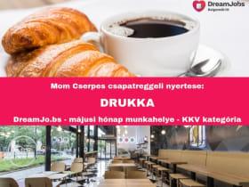 DRUKKA - Hónap Munkahelye - 2019 május