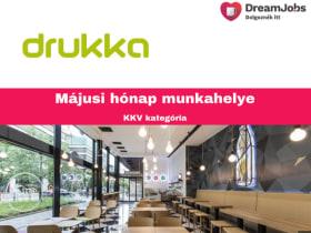 DRUKKA - 2019 május hónap munkahelye