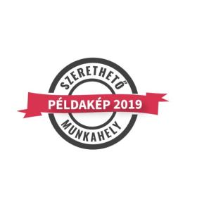 Eisberg Hungary - Szerethető Munkahely Díj 2019.