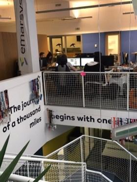 Emarsys Technologies - Fotó az irodáról