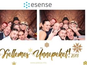 eSense - Ilyen volt a karácsonyi buli