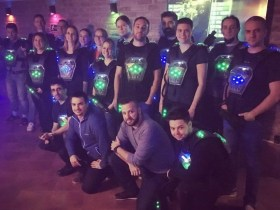 Games for Business - Lasertag a csapattal