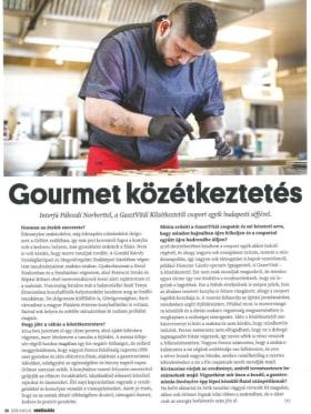 Gasztvitál - Vendéglátás című magazin cikk