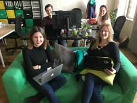 Green Fox Academy - Fotó az irodáról