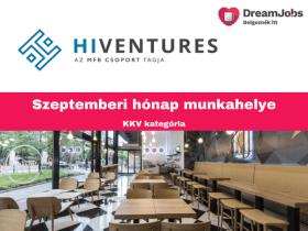 Hiventures - 2019 szept hónap munkahelye