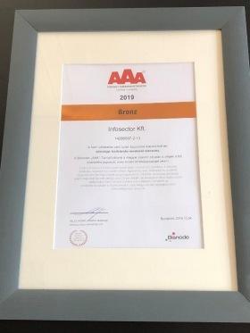 Infosector - 2 éve AA, tavalytól pedig AAA