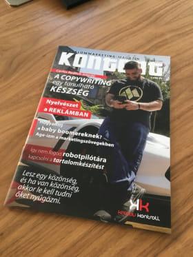 Infosector - Kontent Magazinban megjelenés