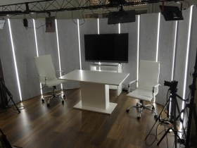 Jövő TV - Fotó az irodáról