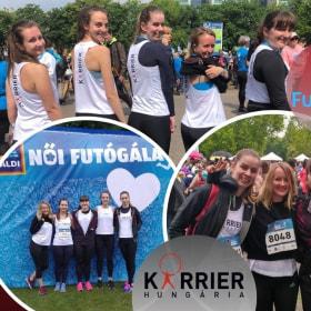 Karrier Hungária - Aldi futógála