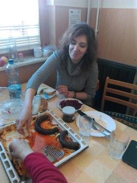 Kendel Építőanyag - Közös disznótoros ebéd