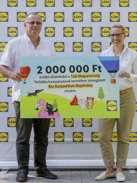 Lidl Magyarország - Támogattuk a Rex Kutyaotthont