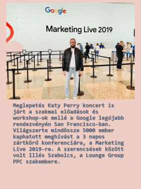 Lounge Group - 																									Google Marketing Live 2019