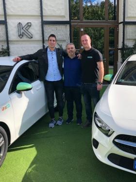 MOL Limitless Mobility Kft. - Limo Mercedes sajtótájékoztató