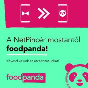 foodpanda (NetPincér) - NetPincér mostantól foodpanda!