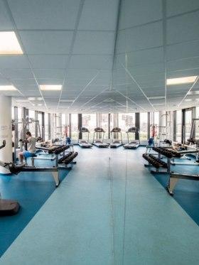 NOKIA - Fitness terem a 7. emeleten