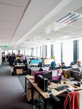 NOKIA - Fotó az irodáról