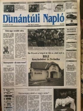 Online Márkaboltok - 1997-ben  Dunántúli Naplóban