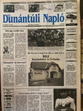 Online Márkaboltok - 1997-ben a  Dunántúli Naplóban