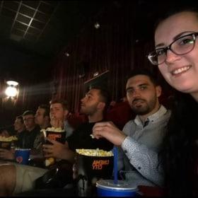 Mini csapat a moziban