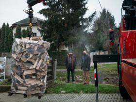 Piramis Építőház - Tűzifa adományozás 2020