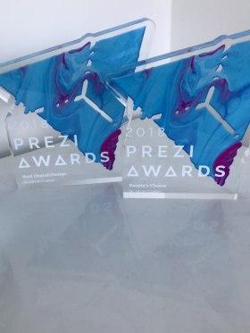 Presonate - Az első Prezi díjak