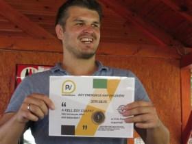 PV Napenergia - Csapatépítő győztesei