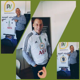 PV Napenergia - Egyedi PV-s mez focistáinknak