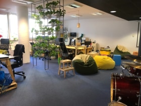 Revolution Robotics - Fotó az irodáról