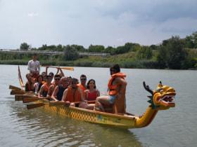 Szinergia - Sárkányhajózás a Dunán