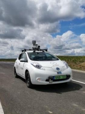 SZTAKI - Önvezető autót is fejlesztünk