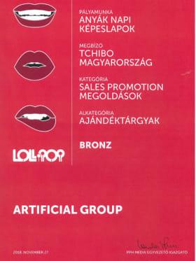 Tchibo Budapest Kft - 2018-as Lollipop reklámverseny