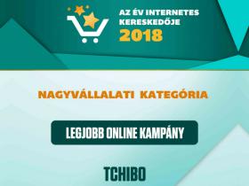 Tchibo Budapest Kft - Év Internetes Kereskedője Díj