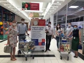Tesco Technology - Food donation shopping tour