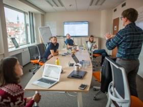 TrueMotion - Meetingen a csapat egy része