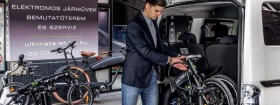 Ultimate e-bike - Csapatfotó