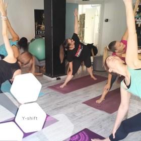 Y-shift - rendszeres Yoga :)