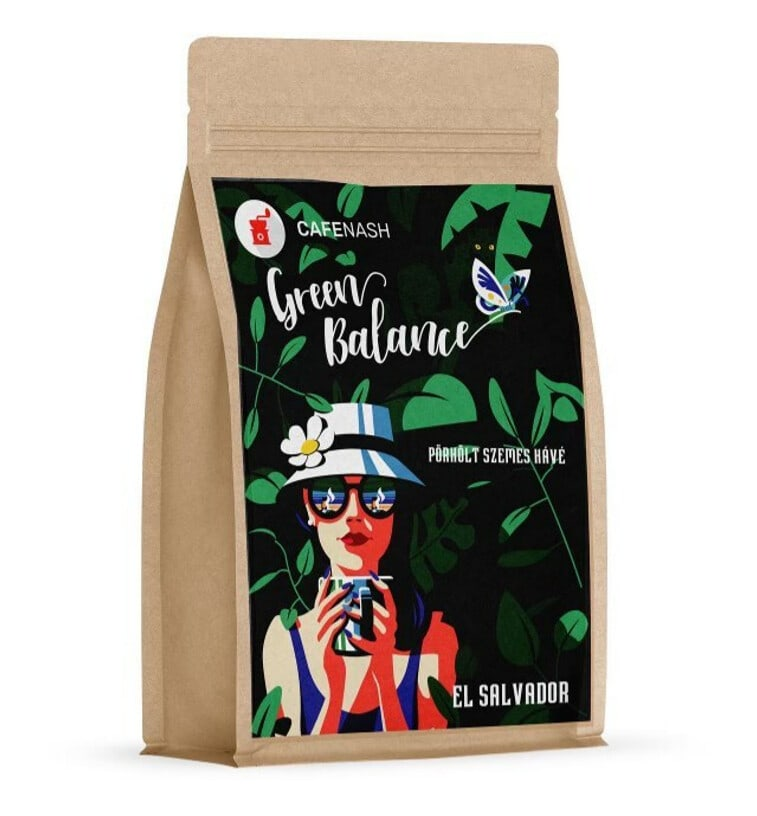 CafeNash Green Balance kávécsomag