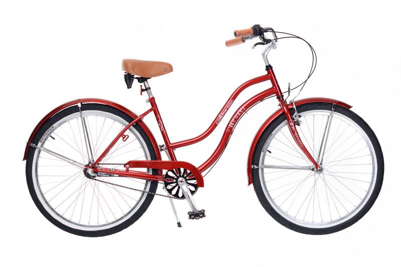 """Női/férfi """"California"""" kerékpár a Neuzer jóvoltából"""