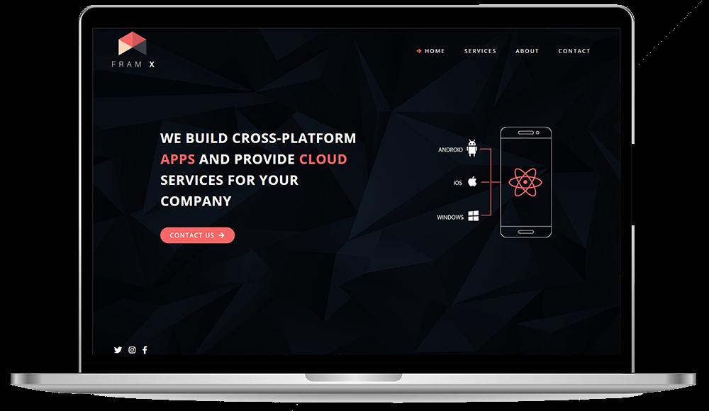 Framx.no website