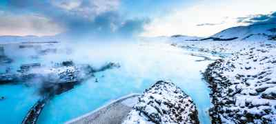 Travel to the Blue Lagoon in Iceland