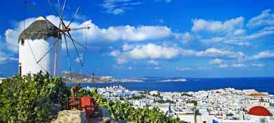 Travel to Mykonos in Greece