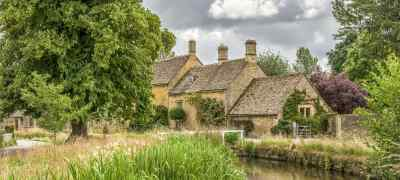 Travel to the Cotswolds in England