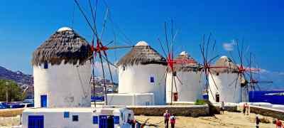 Essential Greece: Athens, Mykonos & Santorini