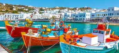 Greek Favorites: Athens & Mykonos